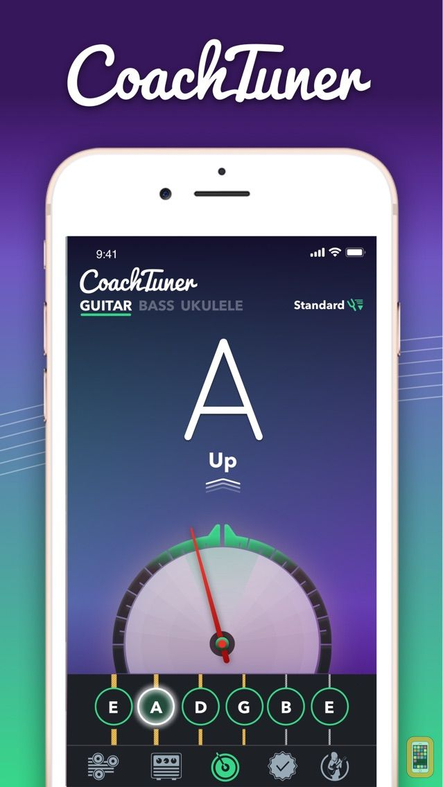 Screenshot - Guitar Tuner Easy tune chords