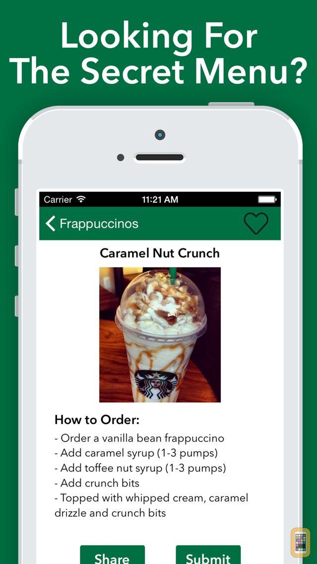 Screenshot - Secret Menu for Starbucks Pro!