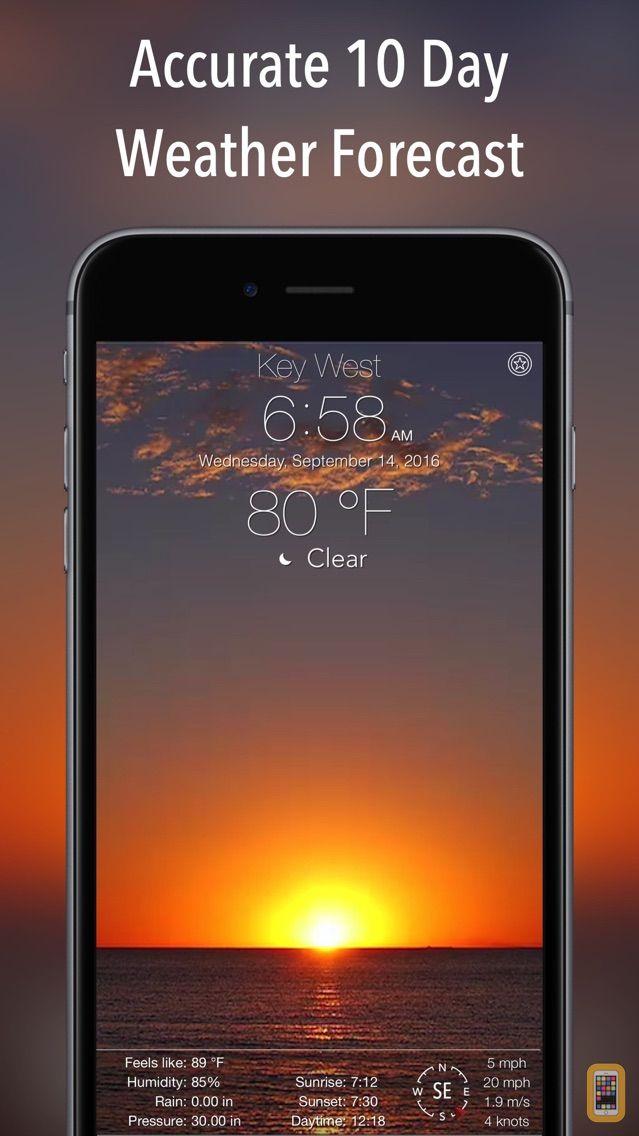 Screenshot - 10 Day NOAA Weather +