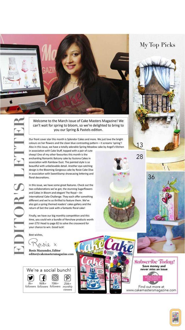 Screenshot - Cake Masters Magazine