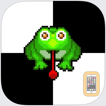 Don't step the white tile with Tiny Frog by redBit games (Universal)
