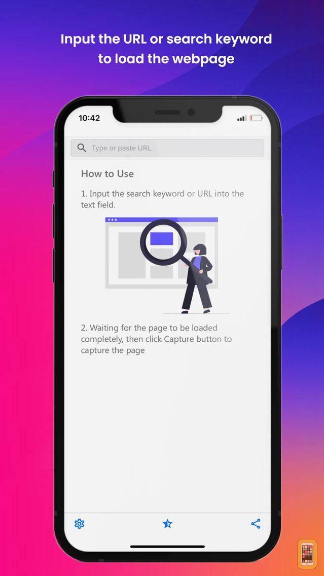 Screenshot - Web2Pics - Webpage Screenshots