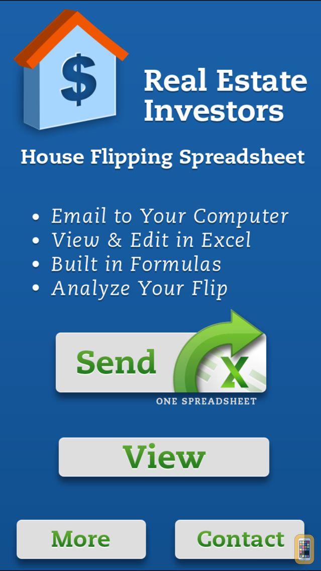 Screenshot - House Flipping Spreadsheet Real Estate Investors