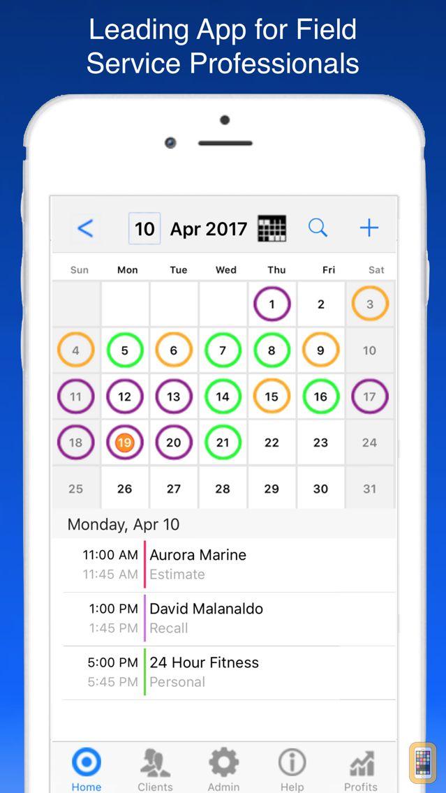 Screenshot - Service Tech Work Orders Plus