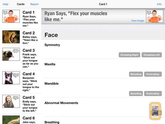 Screenshot - Oral-Peripheral Examination
