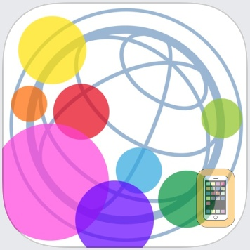 """Brightness and Blue Light Cut Browser """"AceColor"""" by SUGURU OKUYAMA (iPhone)"""