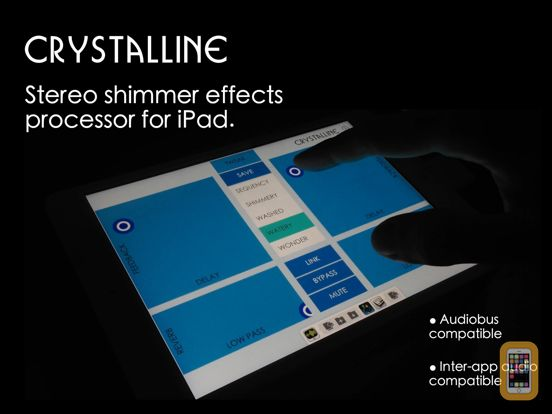 Screenshot - Crystalline - Shimmer Reverb Effects Processor