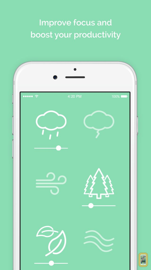 Screenshot - Noisli