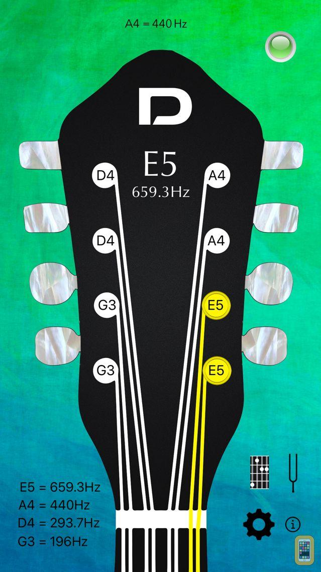 Screenshot - Mandolin Tuner Pro and Chords