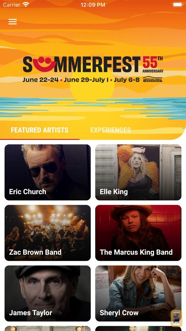 Screenshot - Official Summerfest 2019 App