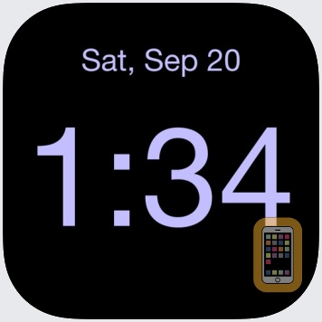 Disappearing Bedside Clock by Midnight Oil Enterprises LLC (Universal)