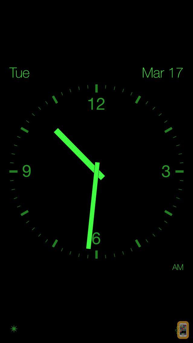 Screenshot - Disappearing Bedside Clock
