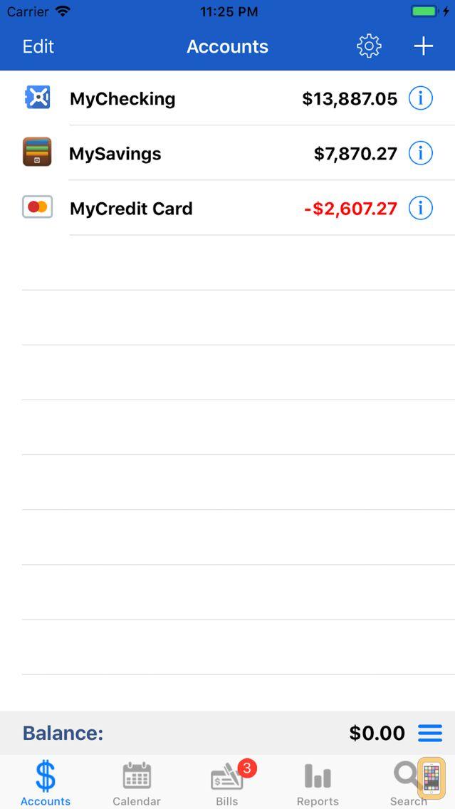 Screenshot - myAccount$