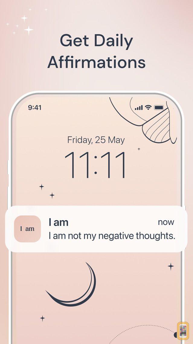 Screenshot - I am - Daily Affirmations