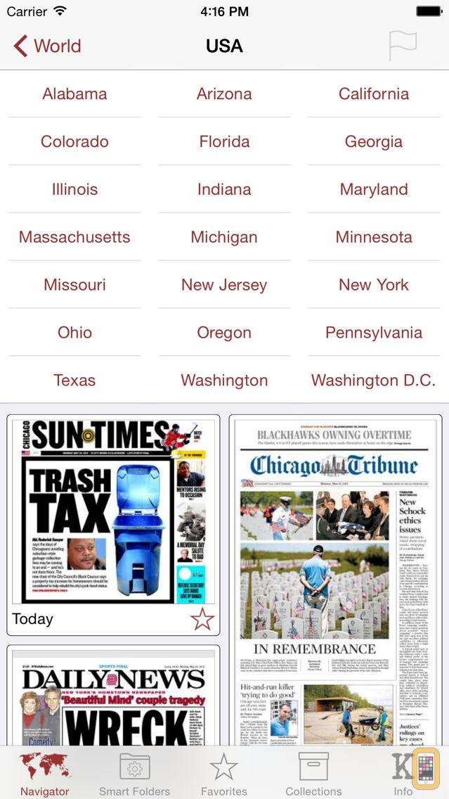 Screenshot - Kiosko.net - Today's Newspaper