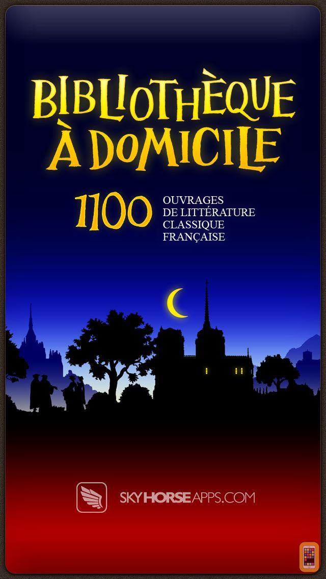 Screenshot - Bibliothèque à Domicile - La Littérature Française - 1100 Livres - French Home Library - 1100 Books