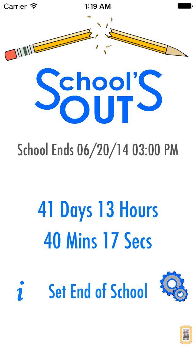 Screenshot - School's Out - Countdown