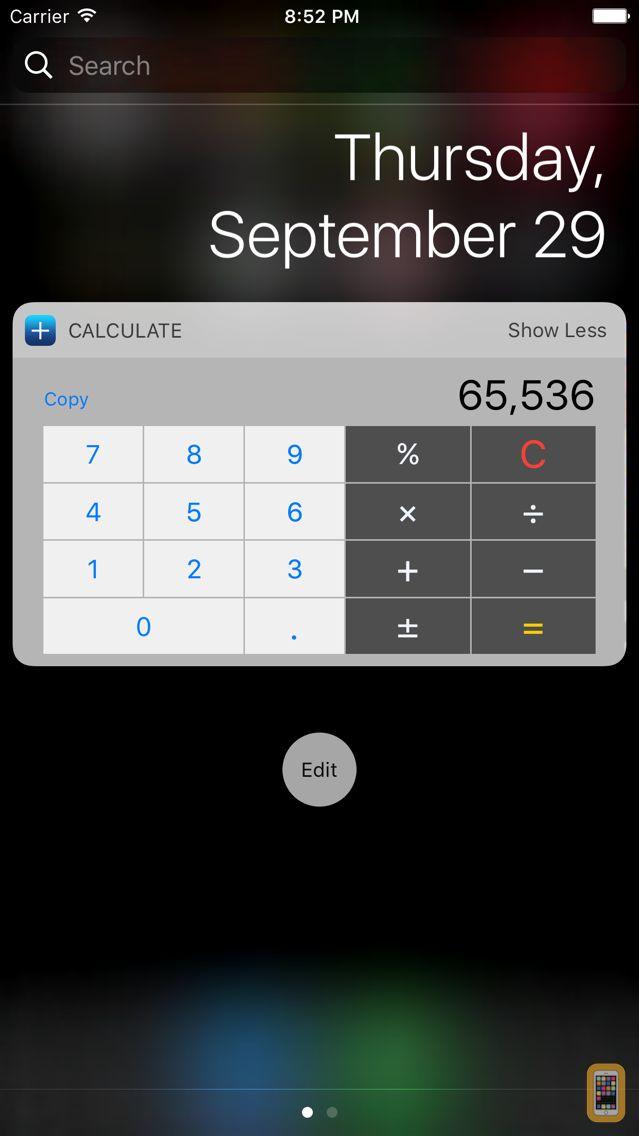 Screenshot - CalcFast