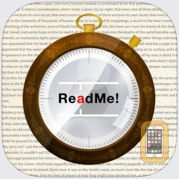 ReadMe! (Spritz & BeeLine) by Pierre DiAvisoo (Universal)