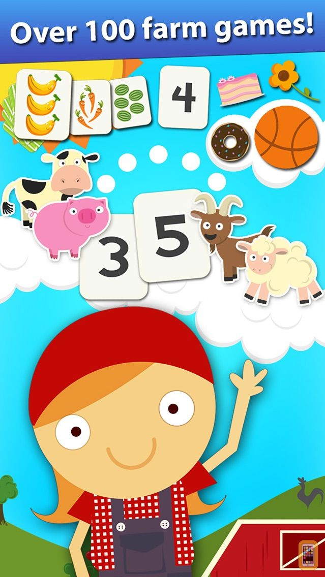 Screenshot - Animal Math Preschool Math Games for Kids Math App