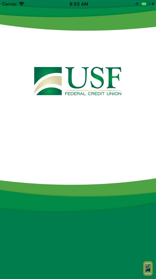 Screenshot - USF Federal CU Mobile Banking