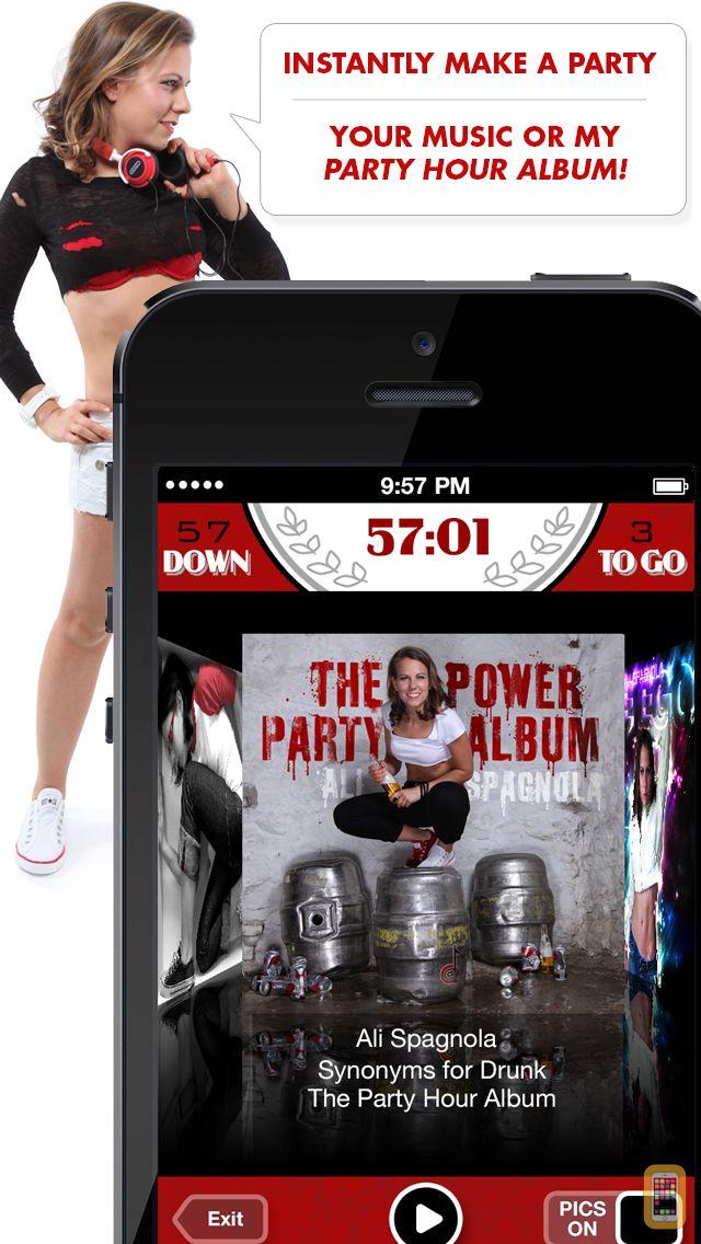 Screenshot - Ali's Power Album: Hour Party Playlist Maker