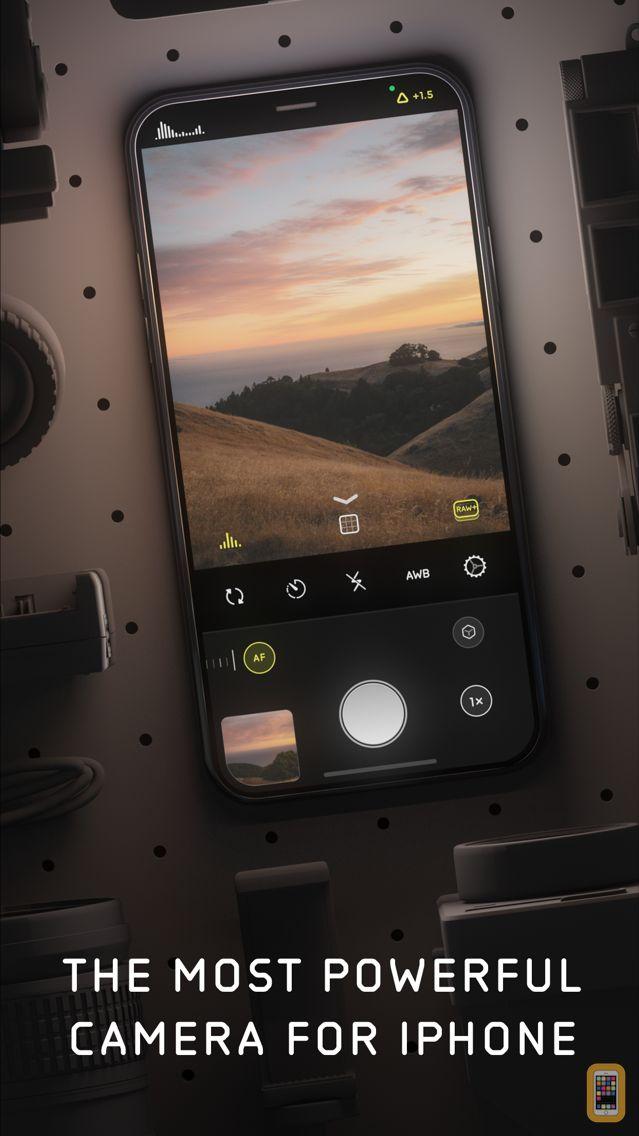 Screenshot - Halide Camera