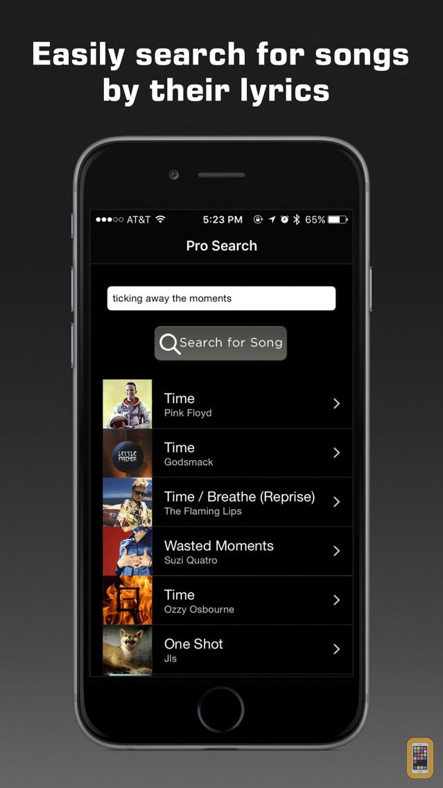 Screenshot - Premium Music Search
