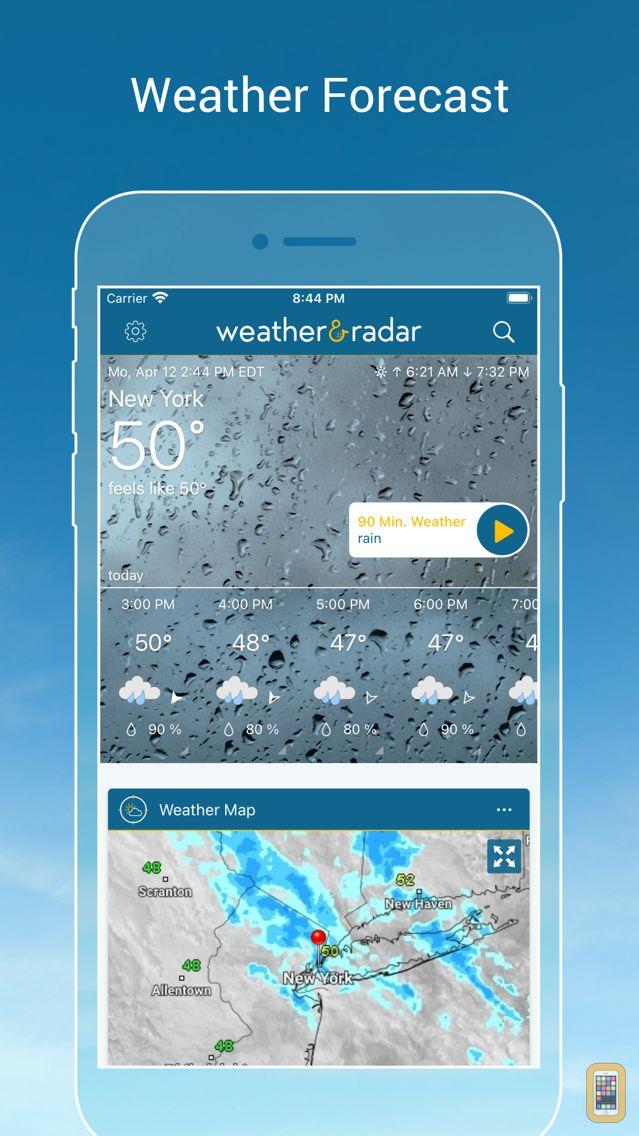 Screenshot - Weather & Radar Pro Ad-Free