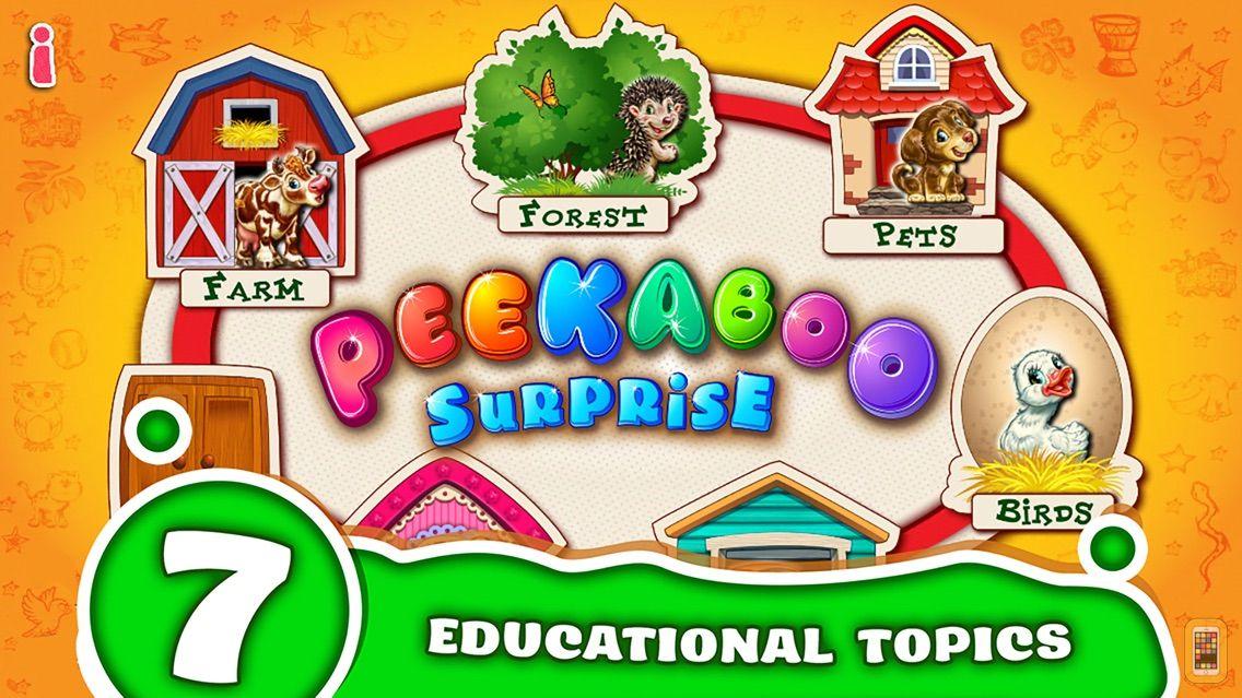 Screenshot - Peekaboo Educational kids game