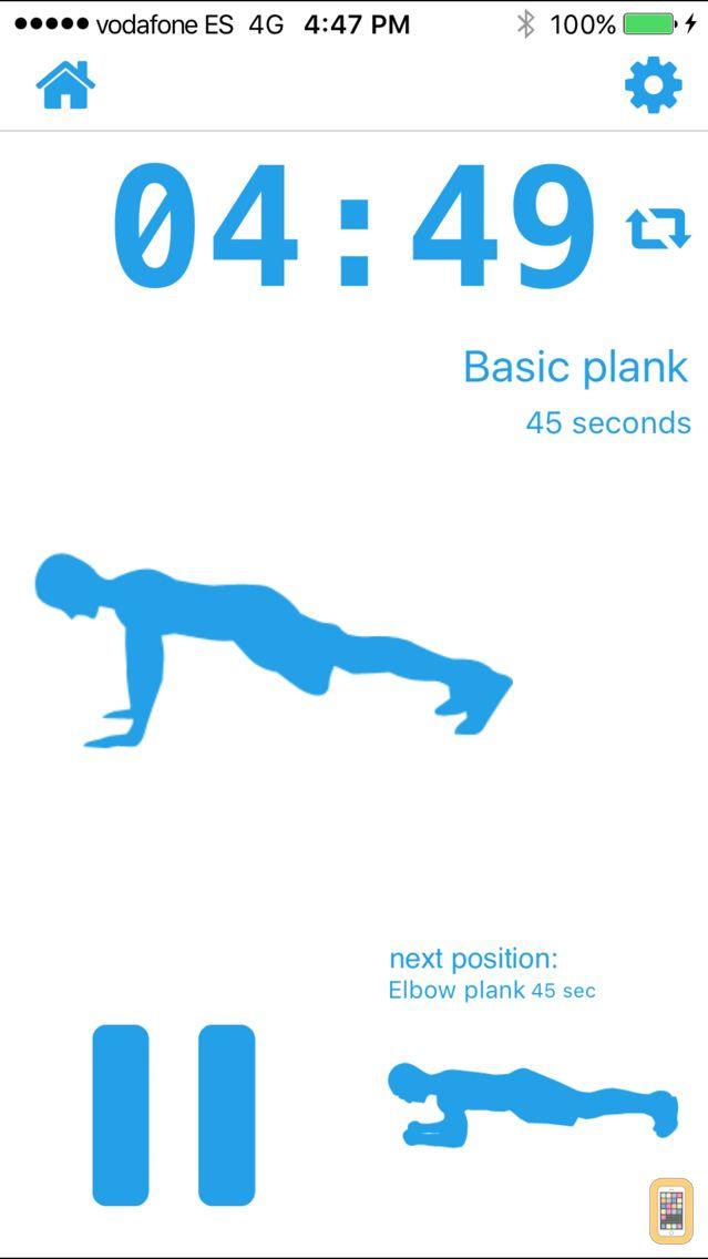 Screenshot - 5 Minute Plank Calisthenics