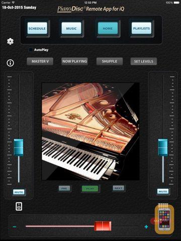 Screenshot - PD Remote for iPad