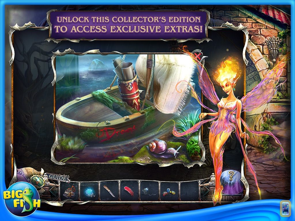 Screenshot - Bridge to Another World: Burnt Dreams HD - Hidden Objects, Adventure & Mystery (Full)