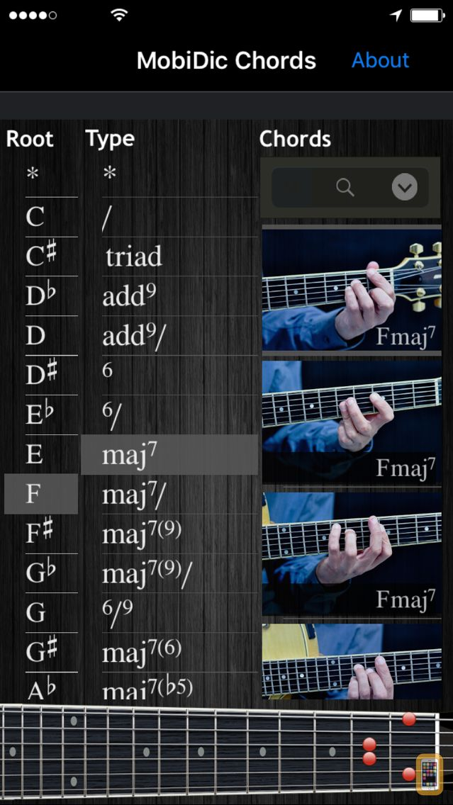 Screenshot - MobiDic - Guitar Chords