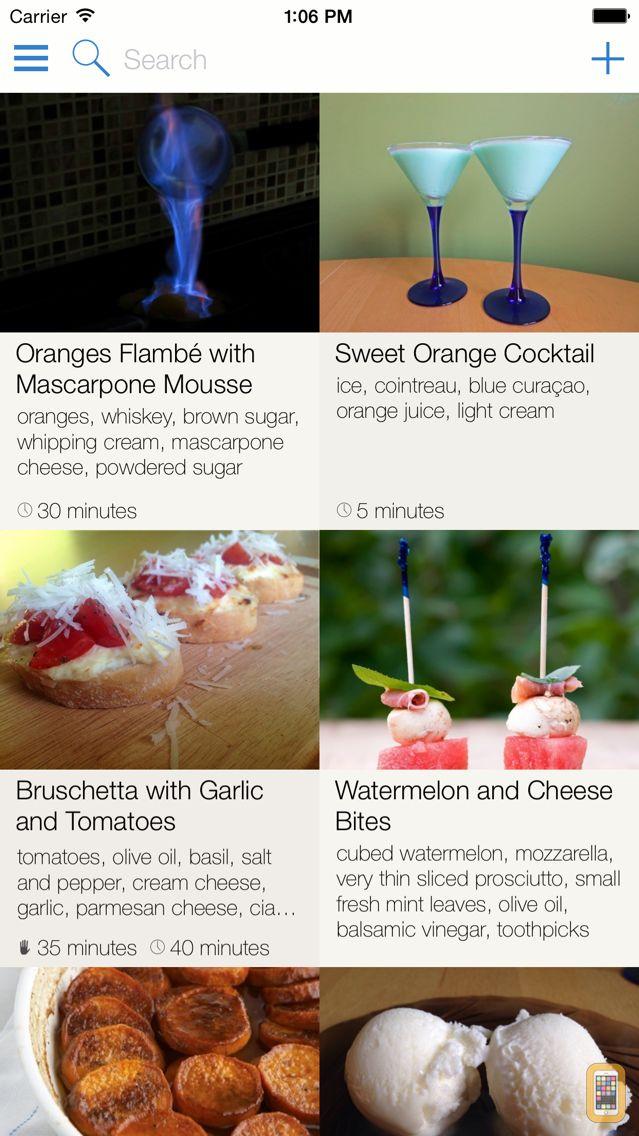 Screenshot - SavouryPot - Recipe Manager & Personal Cookbook