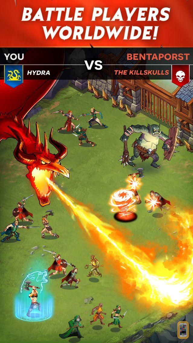 Screenshot - StormBorn: War of Legends