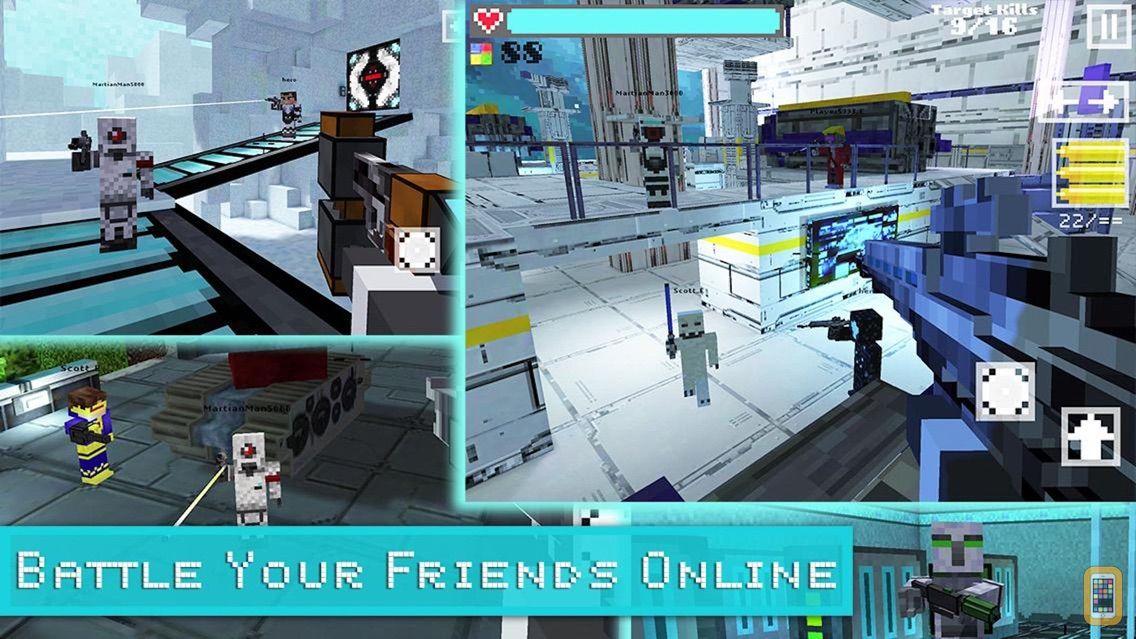 Screenshot - Block Gun 3D: Call of Destiny