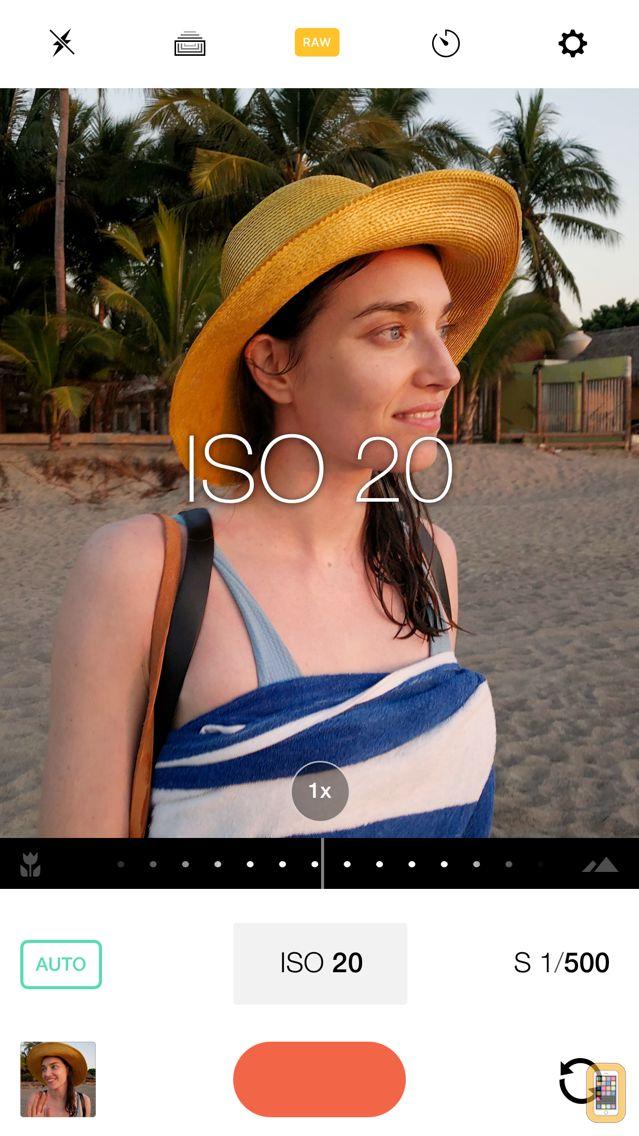 Screenshot - Manual – RAW Camera