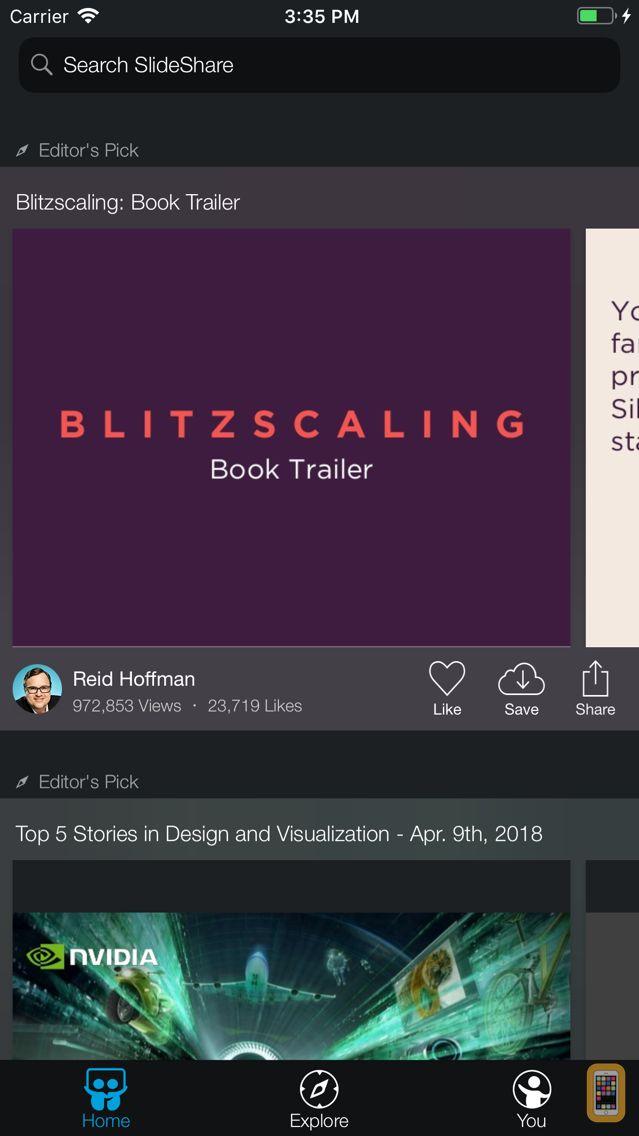 Screenshot - LinkedIn SlideShare