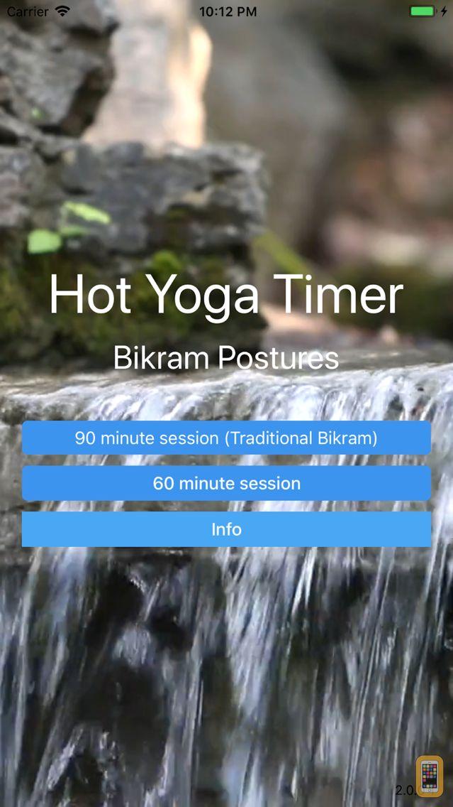 Screenshot - Hot Yoga Timer - Bikram
