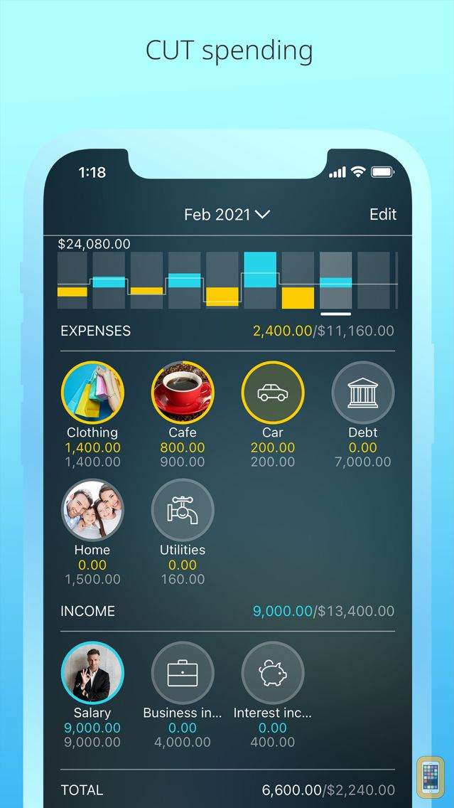 Screenshot - Money Pro: Personal Finance