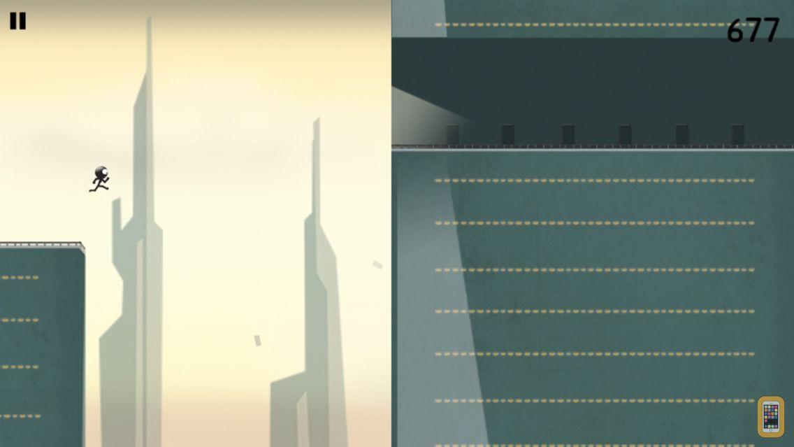 Screenshot - Stickman Roof Runner