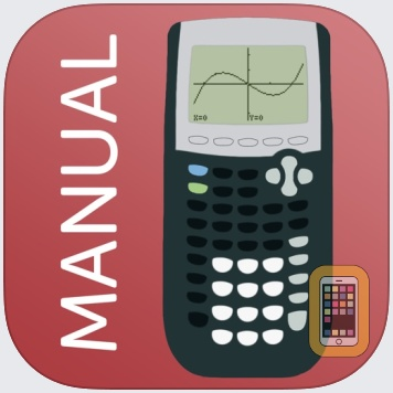 TI 84 Graphing Calculator Man. by Graphing Calculator Apps UG (haftungsbeschrankt) (Universal)