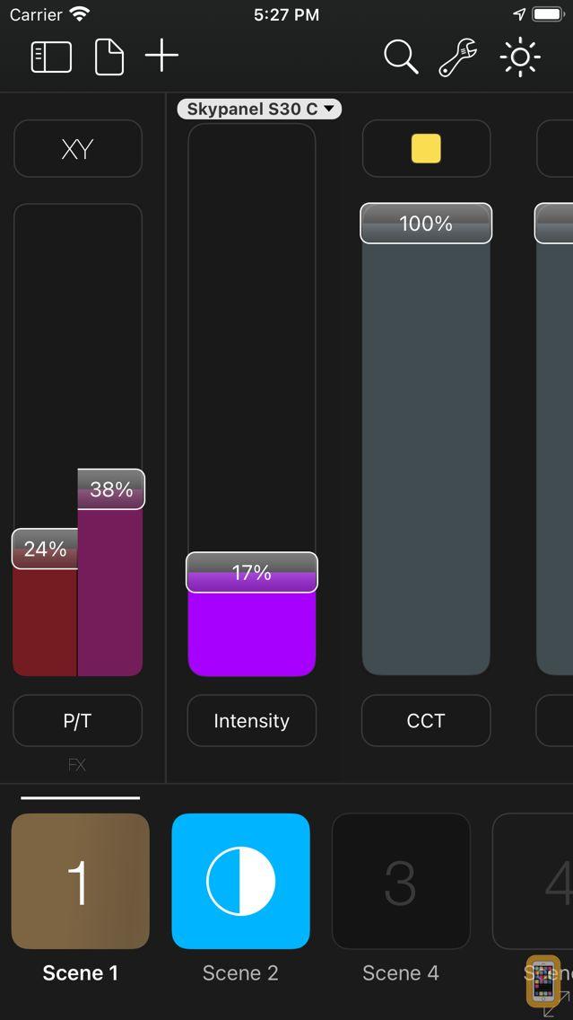 Screenshot - Luminair 3 - DMX/Art-Net/Smart