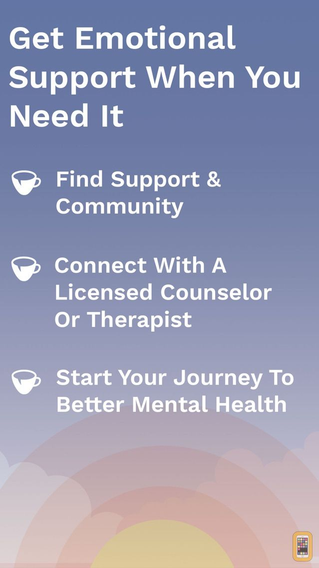 Screenshot - 7 Cups - Online Therapy for Anxiety and Depression