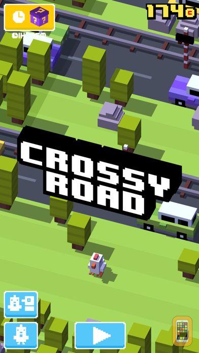 Screenshot - Crossy Road