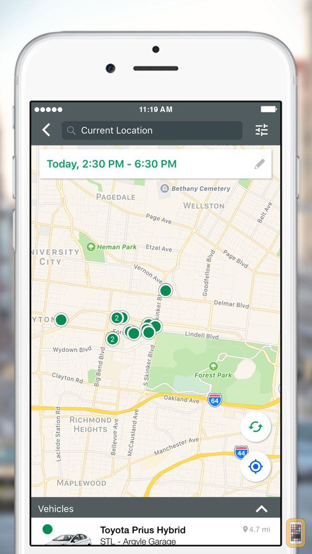 Screenshot - Enterprise CarShare
