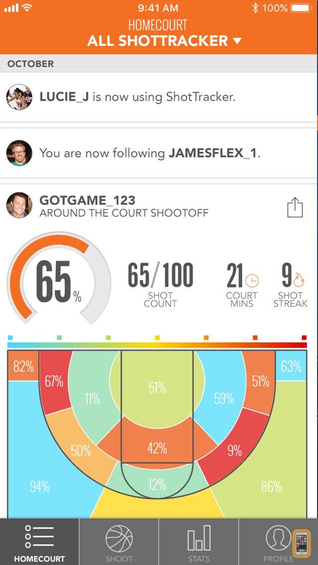 Screenshot - ShotTracker Player