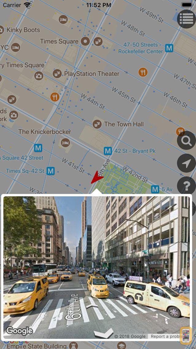 Screenshot - GSVExplorer for Google Maps™