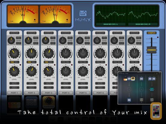 Screenshot - MiMiX - Mixer for Audiobus